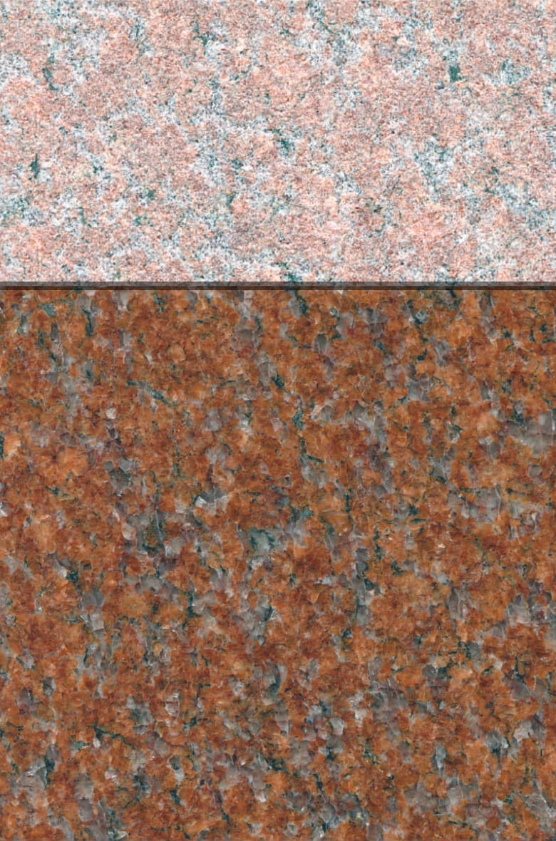 Granite Gallery Rock of Ages: AMERICAN RED
