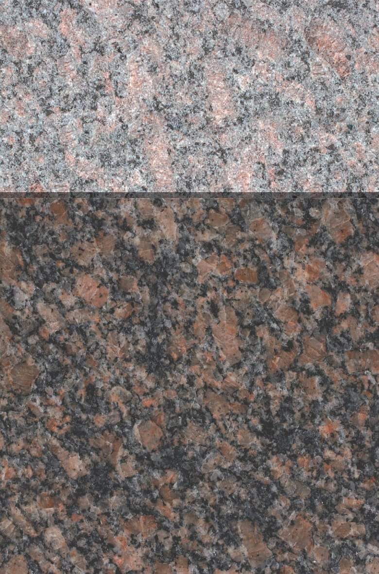 Granite Gallery Rock of Ages: CANADIAN MAHOGANY