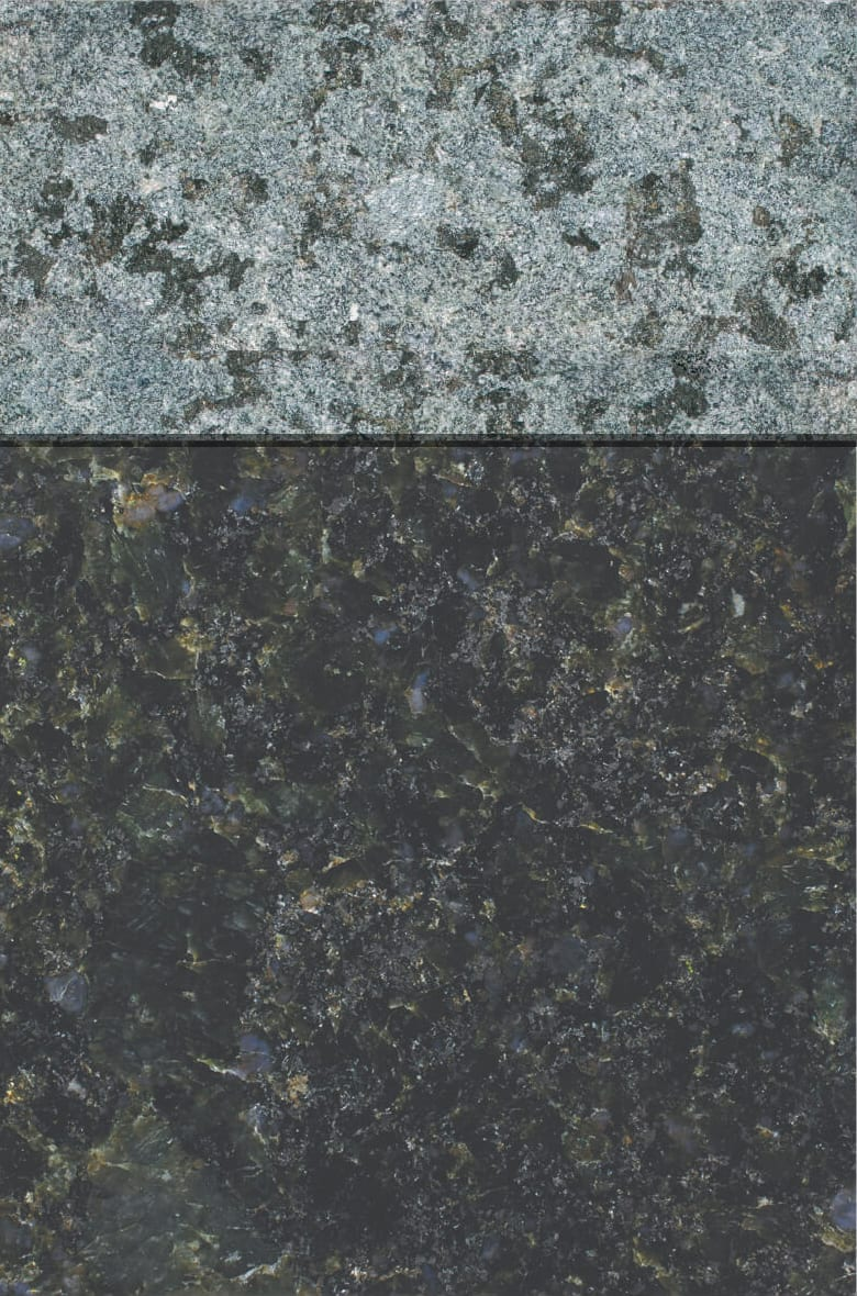 Granite Gallery Rock of Ages: LAURENTIAN GREEN